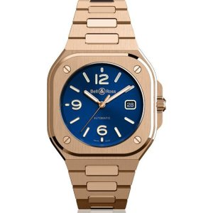 Bell & Ross Watch Br 05 Blue Gold , Blue