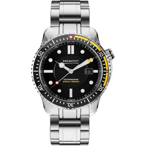 Bremont Ex-display Watch S2000 Yellow Black , Black