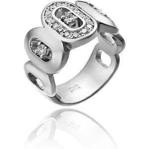 Chimento Optima 18ct White Gold 0.45ct Diamond Band Ring