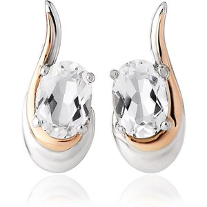Clogau Serenade Sterling Silver Stud Earrings
