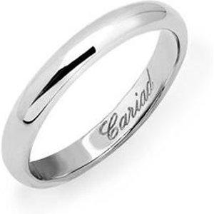 Clogau Windsor Platinum 3mm Wedding Ring, Platinum