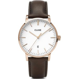Cluse Watch Aravis Mens White, White