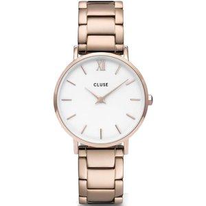 Cluse Watch Minuit Ladies White, White