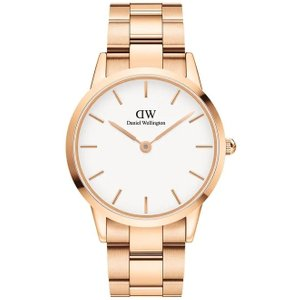 Daniel Wellington Watch Iconic Link White 40mm , White