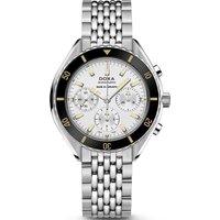 Doxa Watch Sub 200 C-graph Searambler Bracelet Silver, Silver