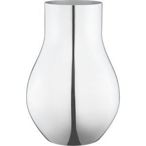 Georg Jensen Cafu Stainless Steel Medium Vase