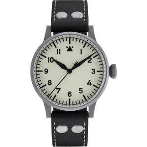 Laco Watch Pilot Watch Original Venedig Erbstuck White , White