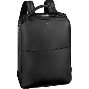 Montblanc City Bag Meisterstuck Urban Slim Backpack Black , Black