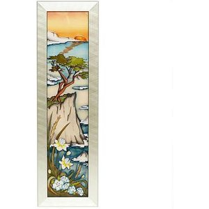 Moorcroft Numbered Edition Lone Highway Plaque