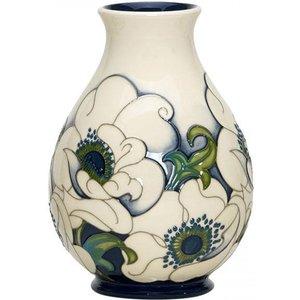 Moorcroft Snow Song Vase