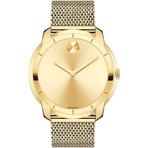 Movado Bold Watch Gold , Gold