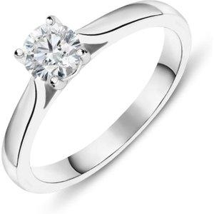 C W Sellors Diamond Jewellery Platinum 0.40ct Diamond Brilliant Cut Solitaire Ring