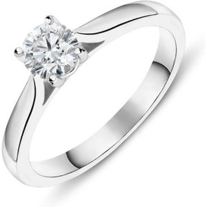 C W Sellors Diamond Jewellery Platinum 0.50ct Diamond Solitaire Ring