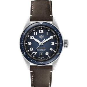 Tag Heuer Watch Autavia Calibre 5 Chronometer Blue, Blue