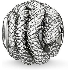 Thomas Sabo Karma Beads Magic Garden Sterling Silver Snake Charm