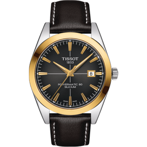 Tissot Watch T-gold Gentlemen Black , Black