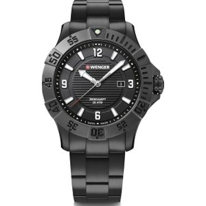 Wenger Watch Seaforce Black , Black