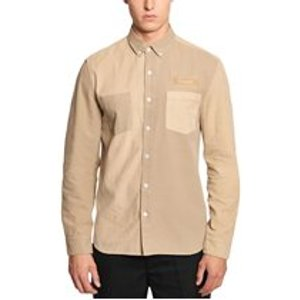 Foret Claw Shirt In Khaki Mens Tops