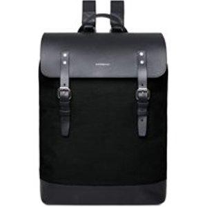Sandqvist Hege Leather Backpack In Black Bags