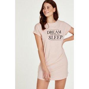 Hunkemöller Dream Short-sleeved Nightshirt Pink 172093 M/l, Pink
