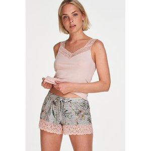Hunkemöller Jersey Shorts Grey 168360 2xl , Grey