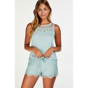 Hunkemöller Lace Shorts Blue 161327 Xs, Blue