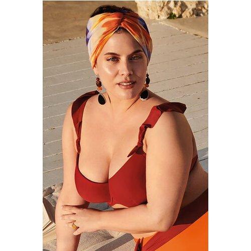 Hunkemöller Padded Underwired Bikini Top Paramaribo I Am Red 167283 42g, Red