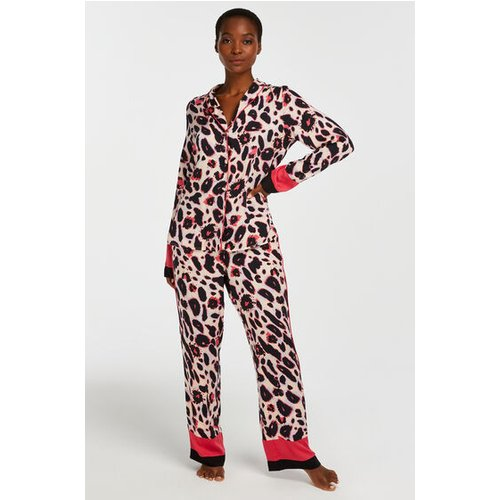 Hunkemöller Petite Pyjama Bottoms Duckie Pink 169399 L, Pink