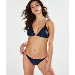 Hunkemöller True Blue Tanga Bikini Bottom Blue 166925 M , Blue