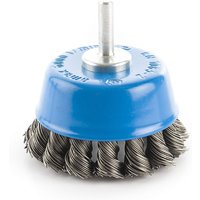Frost High Speed Drills Twist Knot Cup Brush (65dia 6mm Shank)