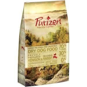 12kg Purizon Grain-free Dry Dog Food - Save £5!* - Adult Large Breed: Chicken & Fish Pets
