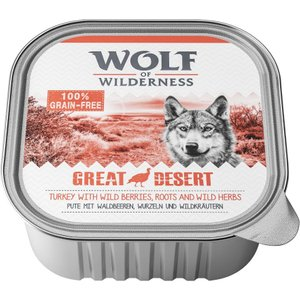 12kg Wolf Of Wilderness Adult Dry Dog Food + 6 X 300g Trays Free!* - Sunny Glade - Venison Pets