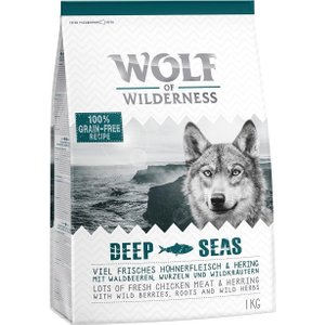 1kg Wolf Of Wilderness Dry Dog Food - Only £1!* - Adult Mini Taste Of Scandinavia - Salmo Pets