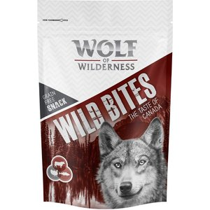 3 X 180g Wolf Of Wilderness The Taste Of Wild Bites - Special Price!* - The Taste Of Scand Pets