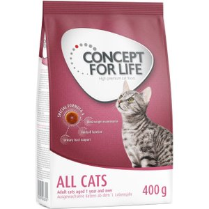 400g Concept For Life Dry Cat Food - Only £2!* - Maine Coon Adult Pets