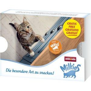 6 X 200g Animonda Carny Adult + 4 X 15g Milkies Cat Snacks Free!* - Chicken, Turkey & Rabb Pets