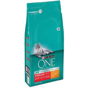 6kg Purina One Chicken Dry Cat Food + Purina One Dual Nature 1.4kg Free!* - Sterilcat Chic Pets