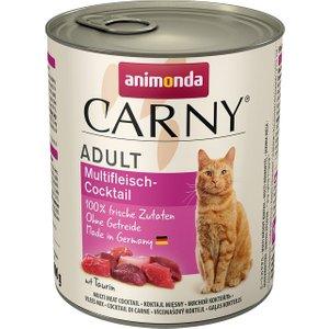 Animonda Carny Adult Saver Pack 12 X 800g - Meat Saucer Pets