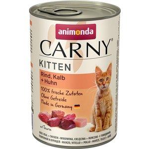 Animonda Carny Kitten 6 X 400g - Poultry Cocktail Pets