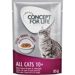 Concept For Life All Cats 10+ – In Gravy - 24 X 85g Pets
