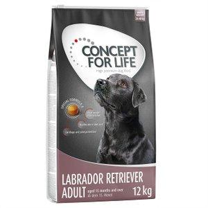 Concept For Life Labrador Retriever Adult - Economy Pack: 2 X 12kg Pets