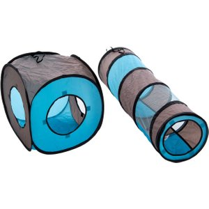 Connect 2-in-1 Cat Tunnel - 1 Set (1 Tunnel + 1 Dice) Pets