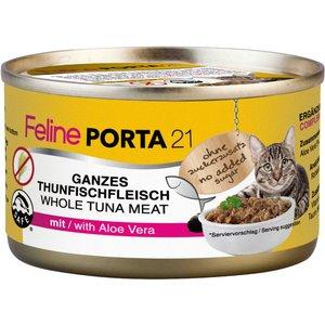 Feline Porta 21 - 6 X 90g - Whole Tuna With Shrimps Pets