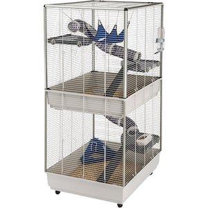 Ferplast Ferret Cage Furet Tower - Grey: 80 X 75 X 161 Cm (l X W X H) Pets