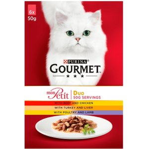 Gourmet Mon Petit - 6 X 50g Fish Pets
