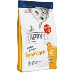 Happy Cat Sensitive Adult Grain Free Rabbit Dry Food - 4kg Pets