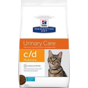Hill's Prescription Diet Feline C/d Multicare Urinary Care - Ocean Fish - 5kg