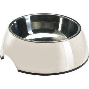 Hunter Melamine Dog Bowl - White - 0.16 Litre Pets