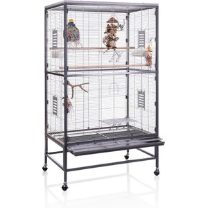 Montana Paradiso 90 Indoor Aviary - 91 X 60 X 160 Cm (l X W X H) (*2 Packages) Pets