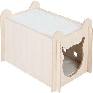 Peekaboo Cat Bed - 61 X 40 X 40 Cm (l X W X H) Pets